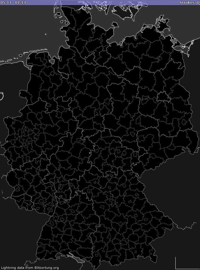 mylightningdetection lightning map